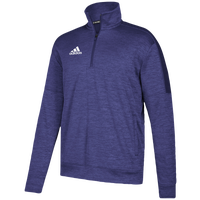 adidas Team Issue Fleece 1/4 Zip - Men's - Purple / White