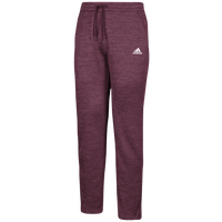adidas Team Issue Fleece Pants - Men's - Maroon / White