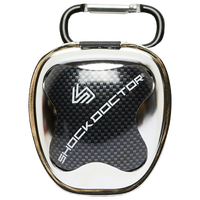 Shock Doctor Anti-Microbial Mouthguard Case - Silver