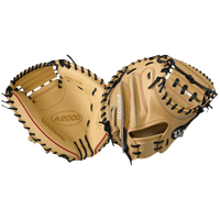 Wilson A200 CM33 Catcher's Mitt - Men's - Tan / Black