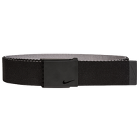 Nike Classic Essentials Web Golf Belt - Men's - Black / Grey