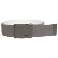 Nike Classic Essentials Web Golf Belt - Men's - Grey / White