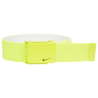 Nike Classic Essentials Web Golf Belt - Men's - Light Green / White