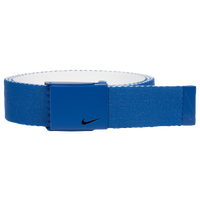 Nike Classic Essentials Web Golf Belt - Men's - Blue / White