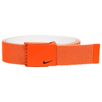 Nike Classic Essentials Web Golf Belt - Men's - Orange / White