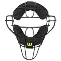 Wilson Dyna-Lite Aluminum Pro Umpire Mask - Adult - Black / Yellow