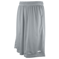 "Eastbay 11"" Basic Mesh Shorts - Men's - Silver / Silver"