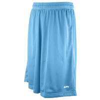 "Eastbay 11"" Basic Mesh Shorts - Men's - Light Blue / Light Blue"