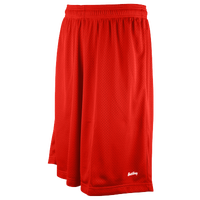 "Eastbay 11"" Basic Mesh Shorts - Men's - Red / Red"
