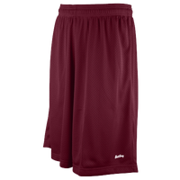"Eastbay 11"" Basic Mesh Shorts - Men's - Maroon / Maroon"