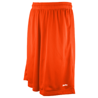 "Eastbay 11"" Basic Mesh Shorts - Men's - Orange / Orange"