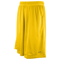 "Eastbay 11"" Basic Mesh Shorts - Men's - Gold / Gold"