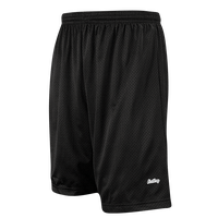 "Eastbay 9"" Basic Mesh Shorts - Men's - All Black / Black"