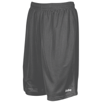 "Eastbay 9"" Basic Mesh Shorts - Men's - Grey / Grey"