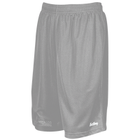 "Eastbay 9"" Basic Mesh Shorts - Men's - Silver / Silver"