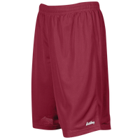 "Eastbay 9"" Basic Mesh Shorts - Men's - Maroon / Maroon"