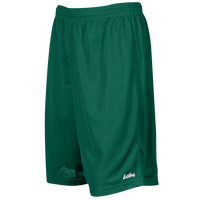 "Eastbay 9"" Basic Mesh Shorts - Men's - Dark Green / Dark Green"