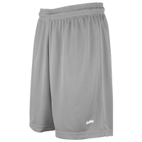 "Eastbay 8"" Basic Mesh Shorts - Women's - Silver / Silver"