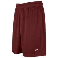 "Eastbay 8"" Basic Mesh Shorts - Women's - Maroon / Maroon"
