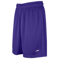 "Eastbay 8"" Basic Mesh Shorts - Women's - Purple / Purple"