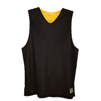 Eastbay Basic Reversible Mesh Tank - Men's - Black / Yellow