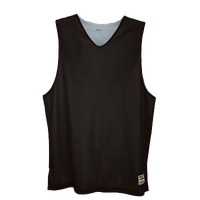 Eastbay Basic Reversible Mesh Tank - Men's - Black / Silver