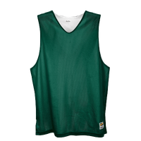 Eastbay Basic Reversible Mesh Tank - Men's - Dark Green / White