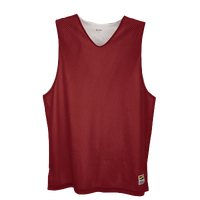 Eastbay Basic Reversible Mesh Tank - Men's - Maroon / White
