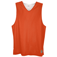 Eastbay Basic Reversible Mesh Tank - Men's - Orange / White