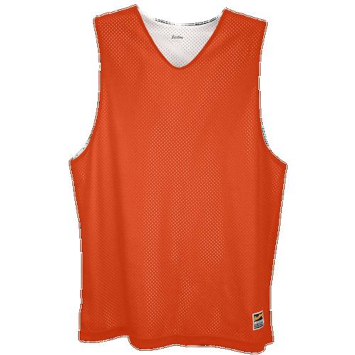 Eastbay Basic Reversible Mesh Tank - Men's Basketball - Orange/White 1151702