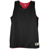 Eastbay Basic Reversible Mesh Tank - Women's - Black / Red