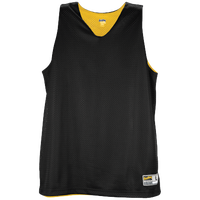 Eastbay Basic Reversible Mesh Tank - Women's - Black / Yellow