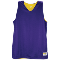 Eastbay Basic Reversible Mesh Tank - Women's - Purple / Yellow