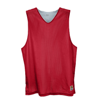 Eastbay Basic Reversible Mesh Tank - Boys' Grade School - Red / Silver