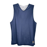 Eastbay Basic Reversible Mesh Tank - Boys' Grade School - Navy / White