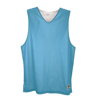 Eastbay Basic Reversible Mesh Tank - Boys' Grade School - Light Blue / White