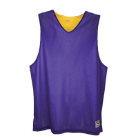 Eastbay Basic Reversible Mesh Tank - Boys' Grade School - Purple / Yellow