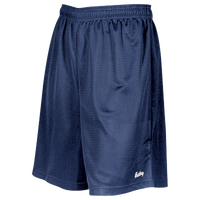 "Eastbay 8"" Basic Mesh Shorts - Boys' Grade School - Navy / Navy"