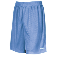 "Eastbay 8"" Basic Mesh Shorts - Boys' Grade School - Light Blue / Light Blue"