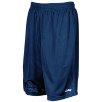 "Eastbay 9"" Basic Mesh Short with Pockets - Men's - Navy / Navy"