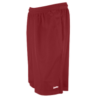 "Eastbay 11"" Basic Mesh Short with Pockets - Men's - Maroon / Maroon"