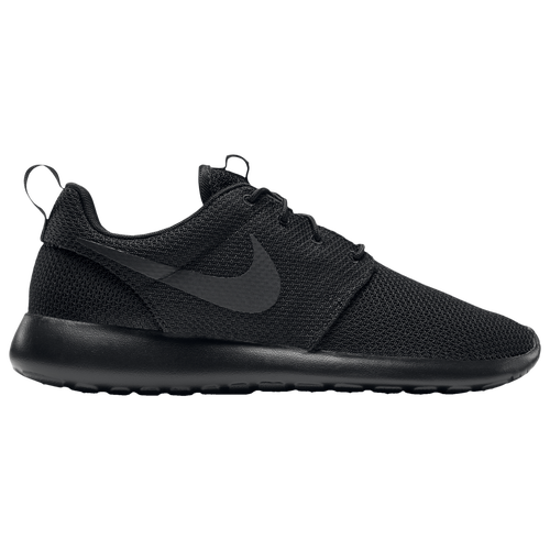 eastbay nike roshe men's black