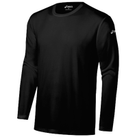 ASICS® Ready-Set Long Sleeve T-Shirt - Men's - All Black / Black
