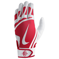Nike Huarache Edge Batting Gloves - Men's - White / Red