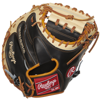 Rawlings Pro Preferred PROSCM33BCT Catchers Mitt - Black / Tan