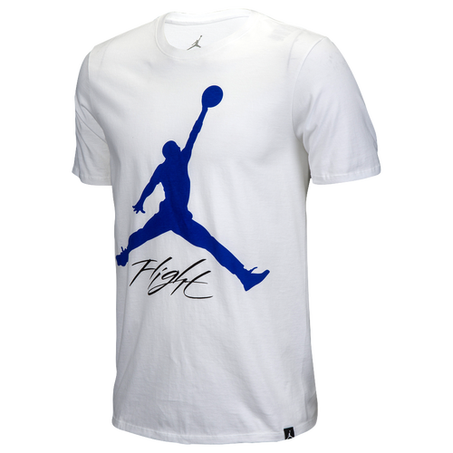 Jordan Retro 4 Motorsports T-Shirt - Men's Basketball - White/Black 12013100