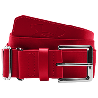 Under Armour Baseball Belt - Men's - Red / Red