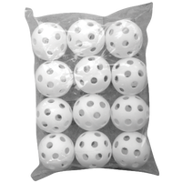 Eastbay Golf Ball Size Plastic Balls - All White / White