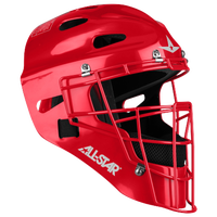 All Star MVP 2310 Catcher's Head Gear - Boys' Grade School - Red / Red