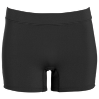 "Augusta Sportswear Enthuse 4"" Shorts - Women's - All Black / Black"